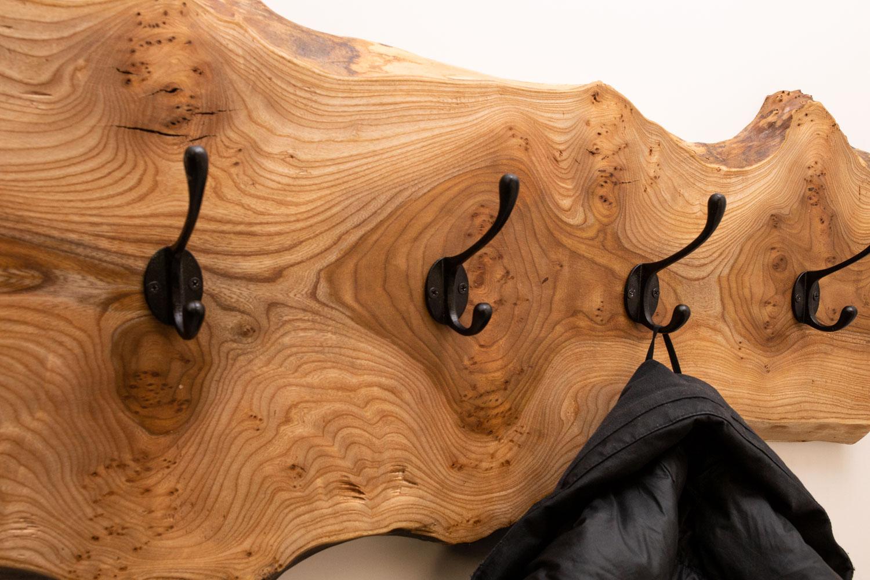 Kapstok iepenhout